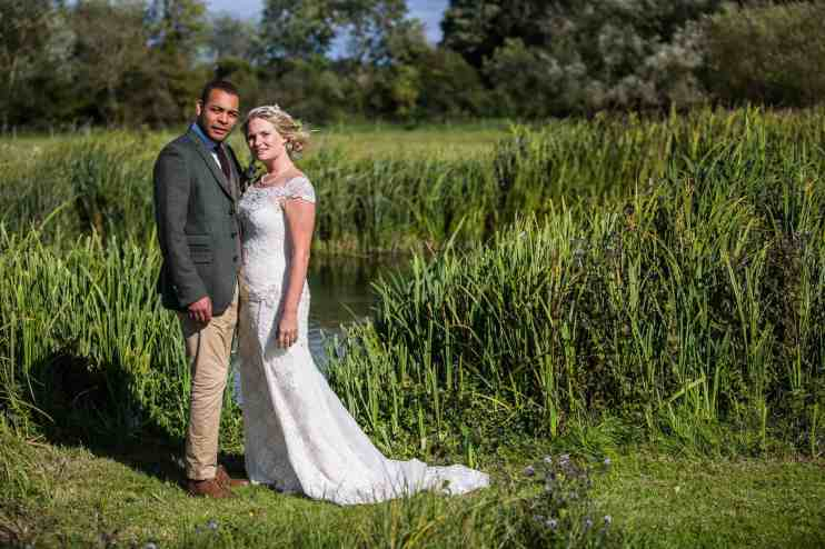 Tris Ems Cottonworth Vineyard Fullerton Estate Hampshire riverside Wedding