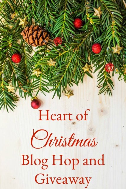 Heart of Christmas blog hop and giveaway with shirt, music, and books