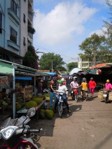 Market in Vinh Long