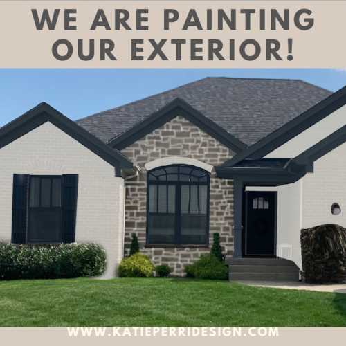 Painting Our Exterior: The Plan
