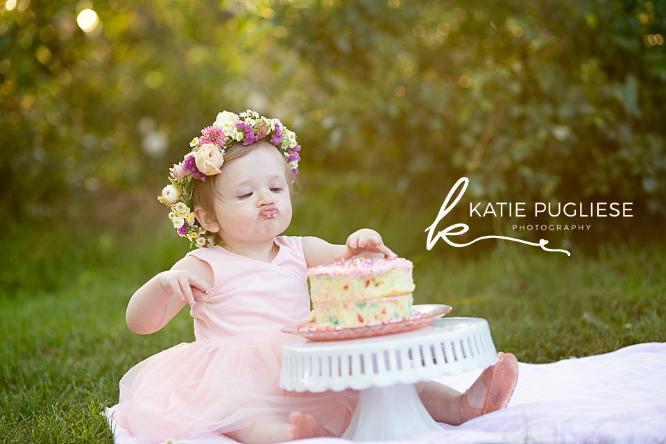 Baby Girl's First Birthday Photo Session