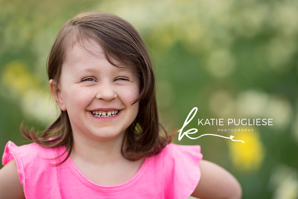 Spring child photo session