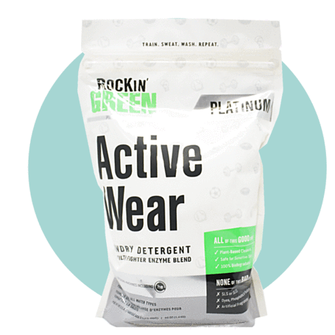 Rockin' Green Platinum Series Active Wear Detergent