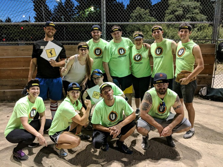 Five Faves Underdog Seattle Softball Champions