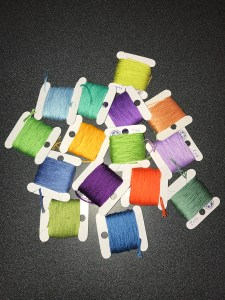 Five Faves 8-10-18: Bobbins for Cross Stitch