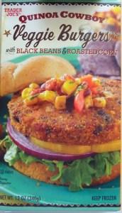 Five Faves 10-12-18: Quinoa Cowboy Veggie Burger