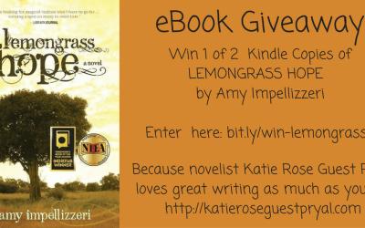 Book Giveaway: LEMONGRASS HOPE! (redux)