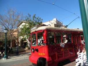 Trolly in California Adventure