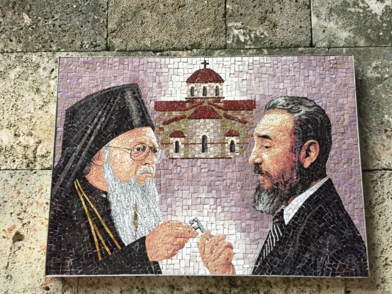 Castro mosaic