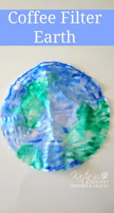 Easy Earth Day Craft with Coffee Filter