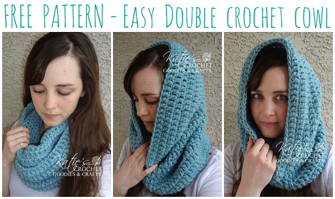Free Easy Double Crochet Cowl Pattern