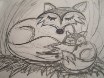 Sketching out the foxes