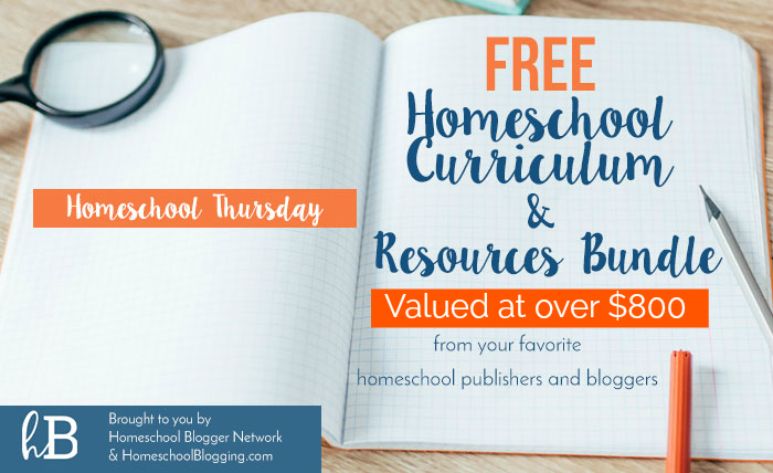 Free Bundle of Homeschool Curriculum