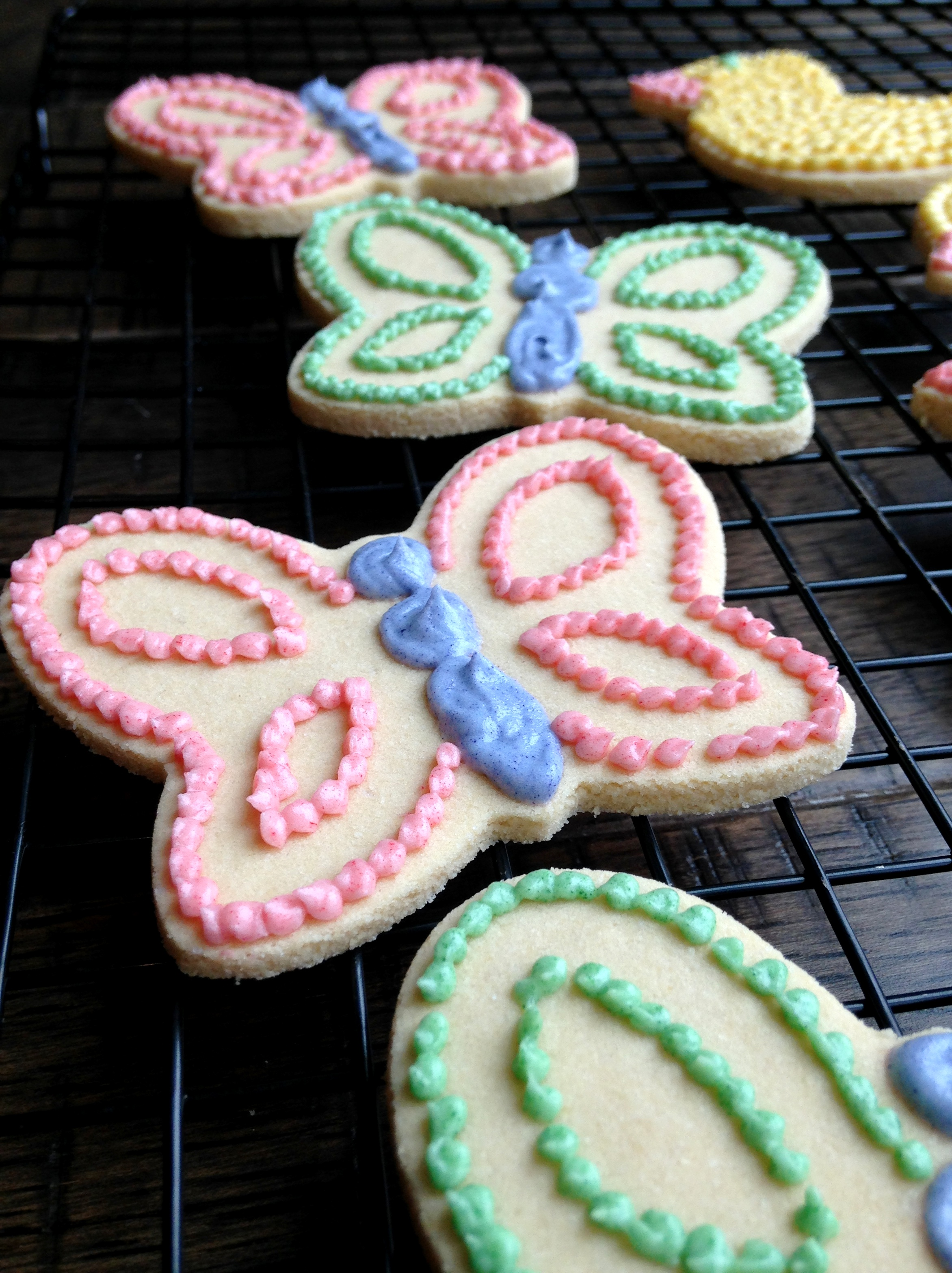 Shortbread Cut-out Cookies