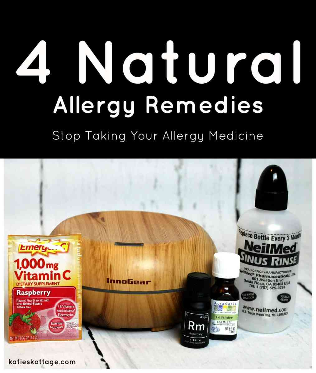 4 Natural Allergy Remedies
