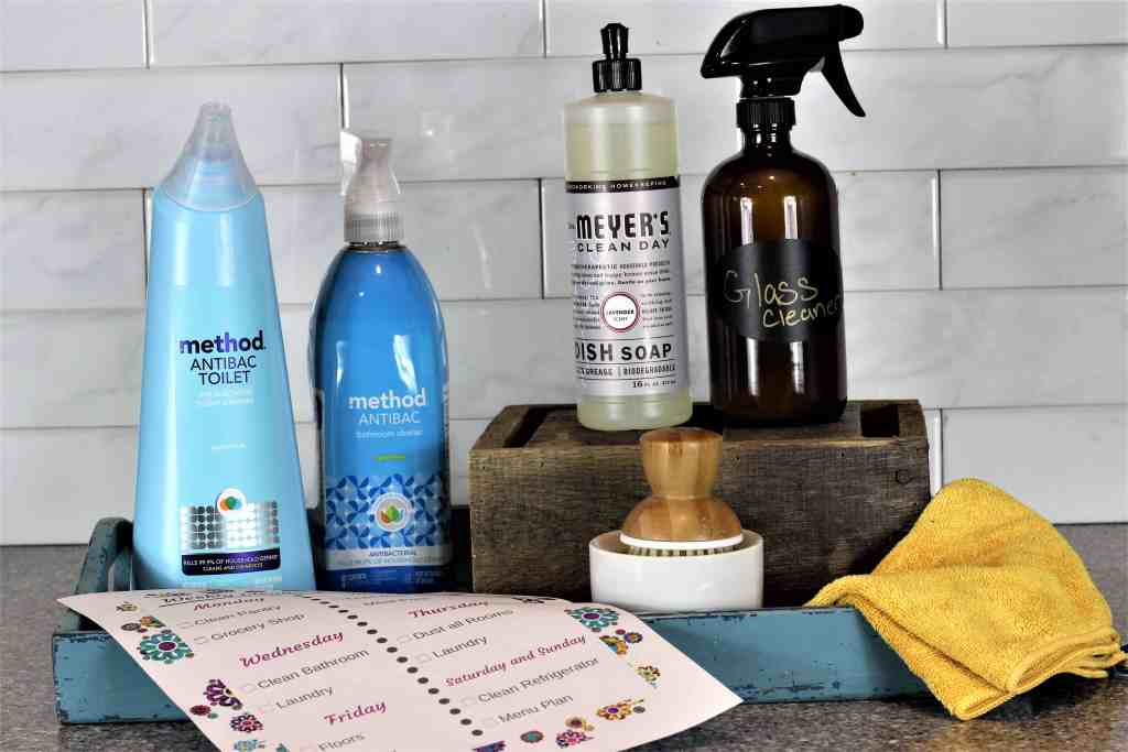 Weekly Cleaning Routine | Weekly Cleaning Checklist