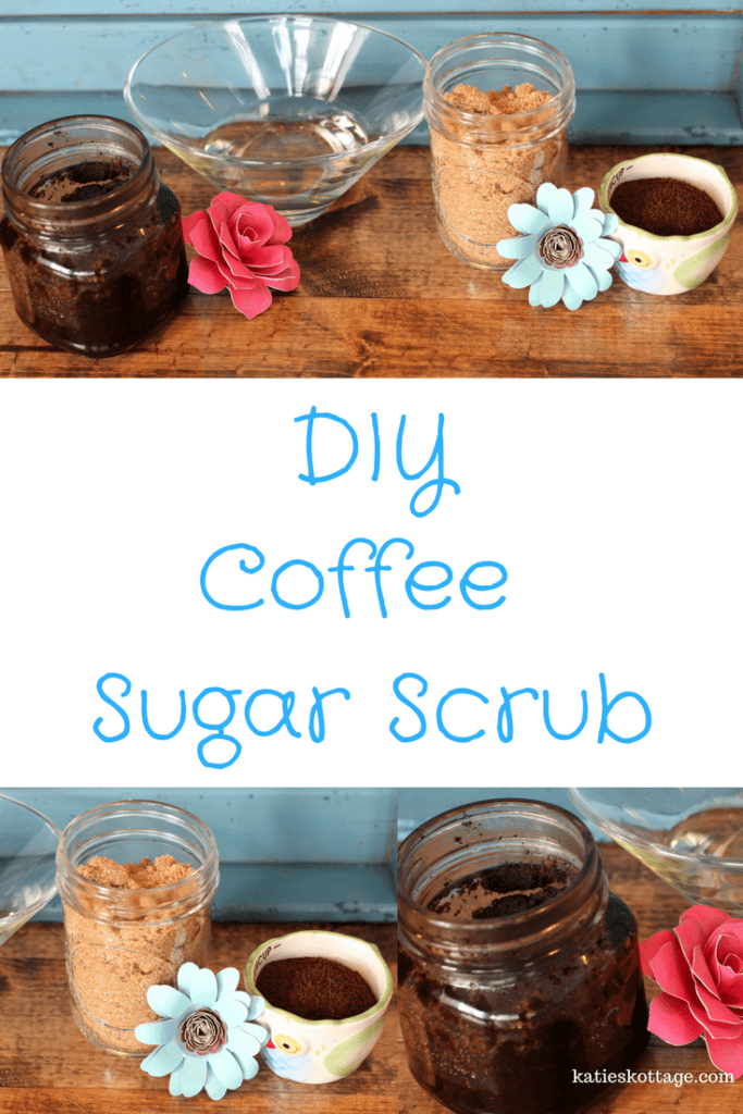 DIY Coffee Sugar Scrub