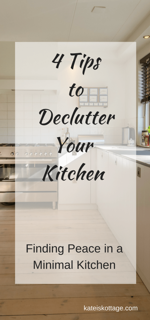 Declutter Kitchen | Minimalism | Clutter Free Kitchen | Small Minimalist Kitchen | Minimalist Kitchen Pantry