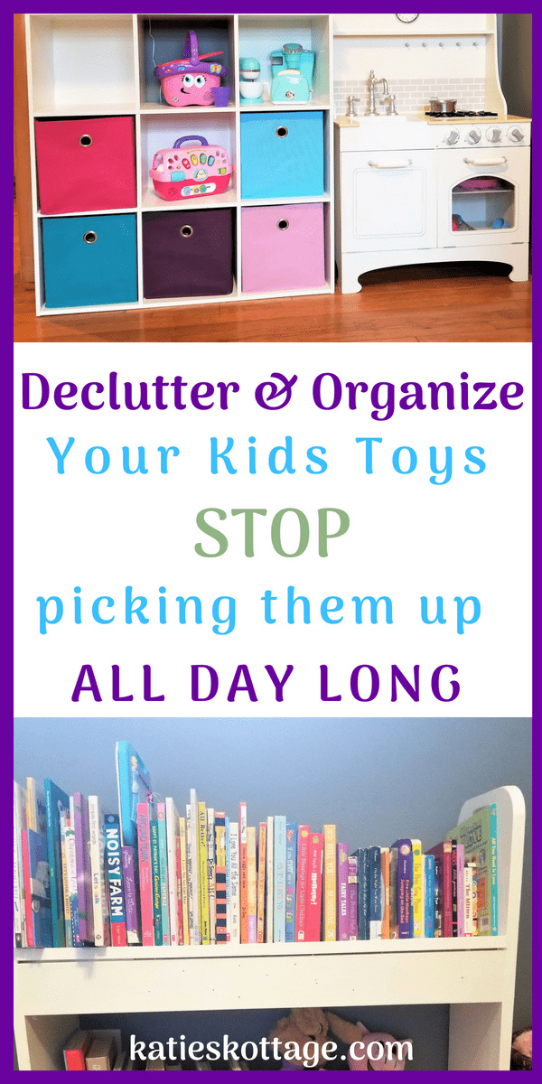 declutter and organize kids toys