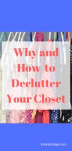 closet declutter | minimal closet | minimalist | declutter