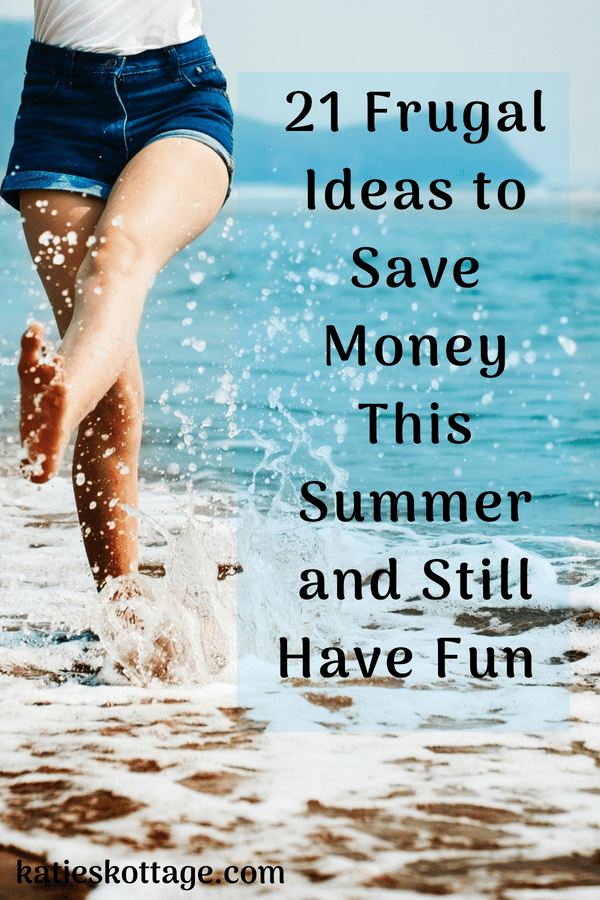 money saving tips for summer #frugalivingtips #savingmoneyideas