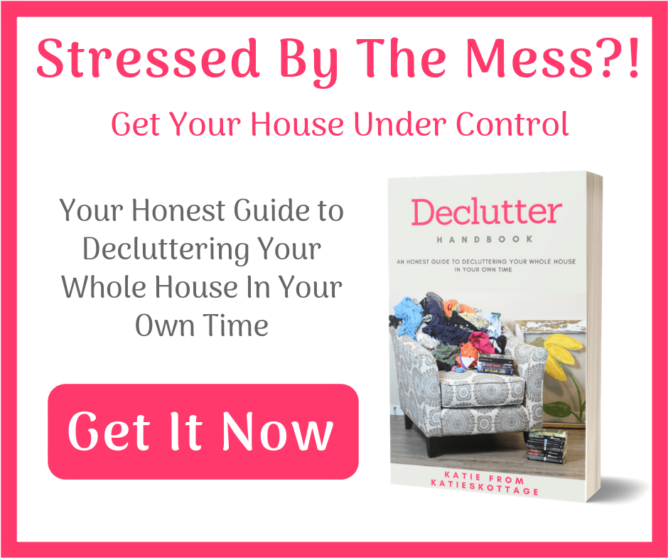 use this declutter guide when you are overwhelmed by mess in your home