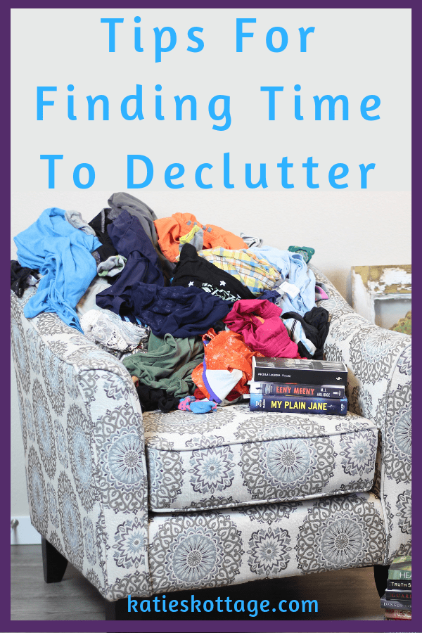 ideas for finding time to declutter and organize your home. The motivation you need to clean your home and get everything back in order. #cleanigtips #cleaninghacks #organizationtips #organization #declutter #home #clutterfree #minimalist