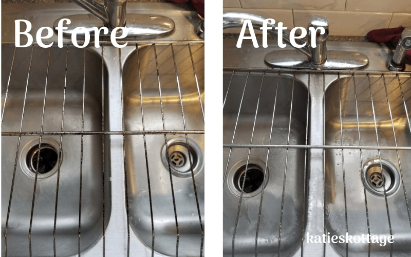 Clean your oven racks without having to let them soak.