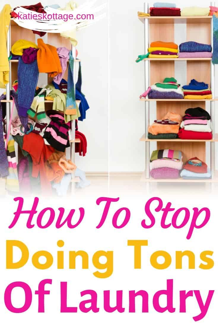 stop doing tons of laundry
