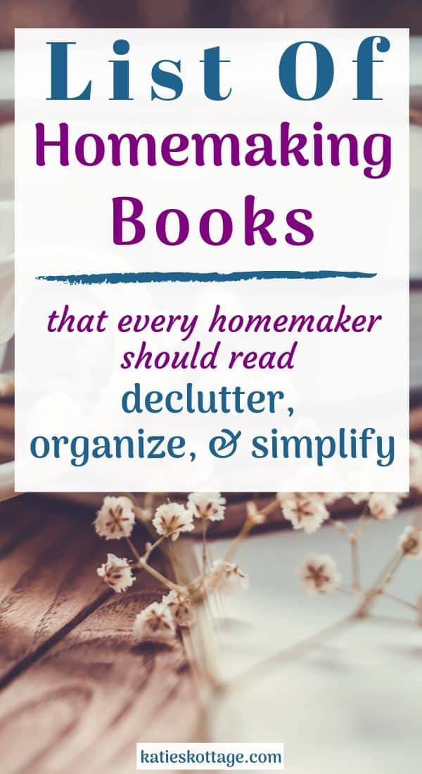 homemaking books.