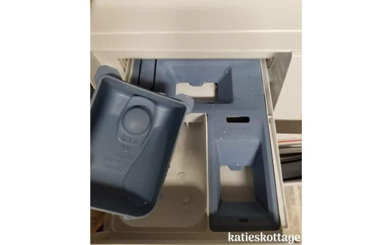 washing machine detergent tray