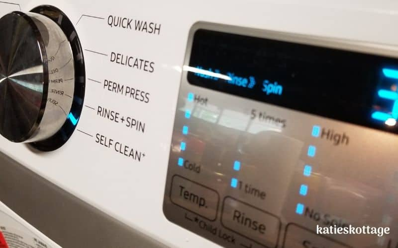clean your front loading washing machine