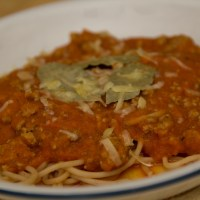 Spaghetti Bolognese (with hidden vegetables!)