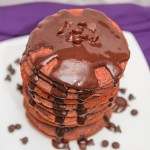 Healthy Chocolate Pancakes #Healthy #Pancakes #KatrinasCleanCooking
