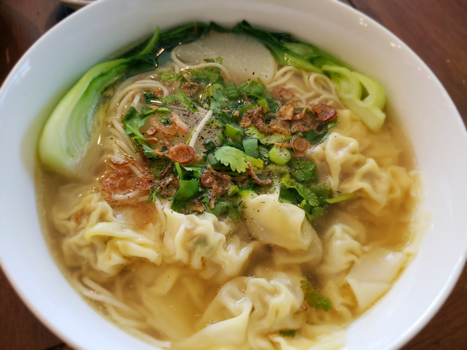 vietnamese wonton noodle soup  katie's test kitchen
