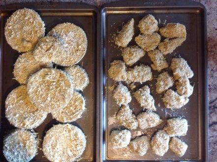 gluten-free breaded chicken