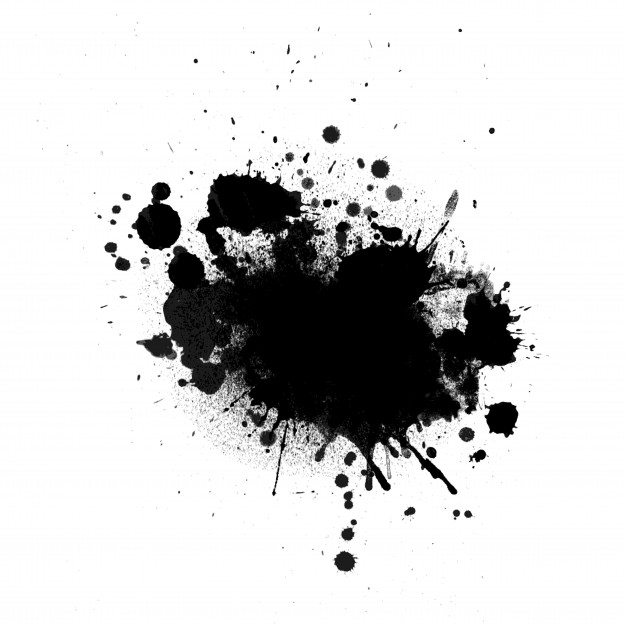 Picture of ink splats