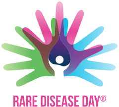 Picture of the rare disease day logo