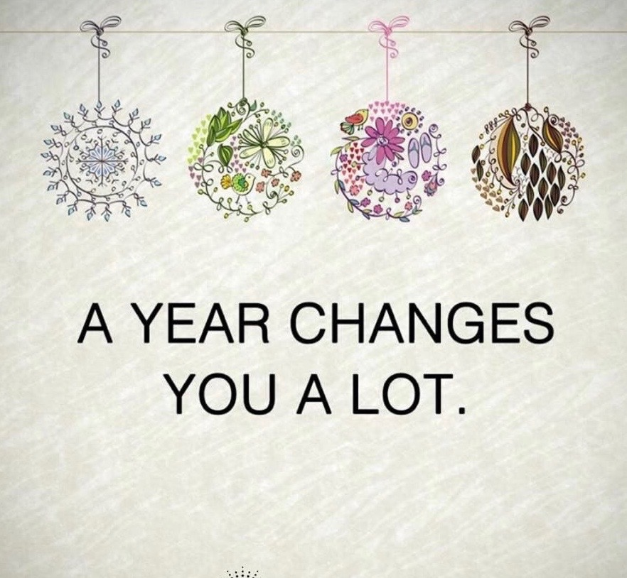 A Year Changes You A Lot Image