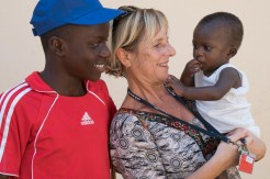 The boy in the red was an Ortho patient who became our translater to Samsu's momma and was so sweet and close with them