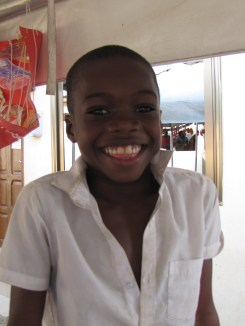 One of our Ortho kids Maurinho. Always had a smile on his face
