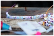 These beads failed at the alphabet, so we needed to improvise when it came to spelling 'Failboats'. It was rather perfect, actually.