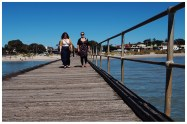 Emily and Aimee set out to reach the end of the Rye Pier. Little did we know we'd be still walking half a day later...