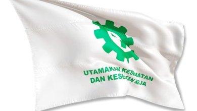 bendera k3 putih