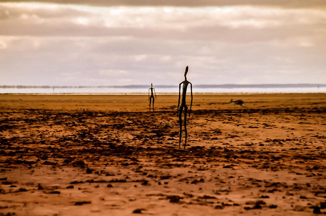 Antony Gormley SculpturesOn Lake Ballard, 200km north of Kalgoorlie in Western Australia
