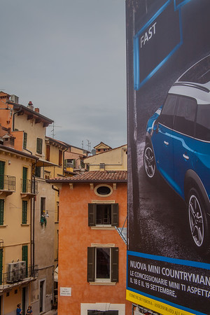Street scene Verona © 2010 Nick Katin