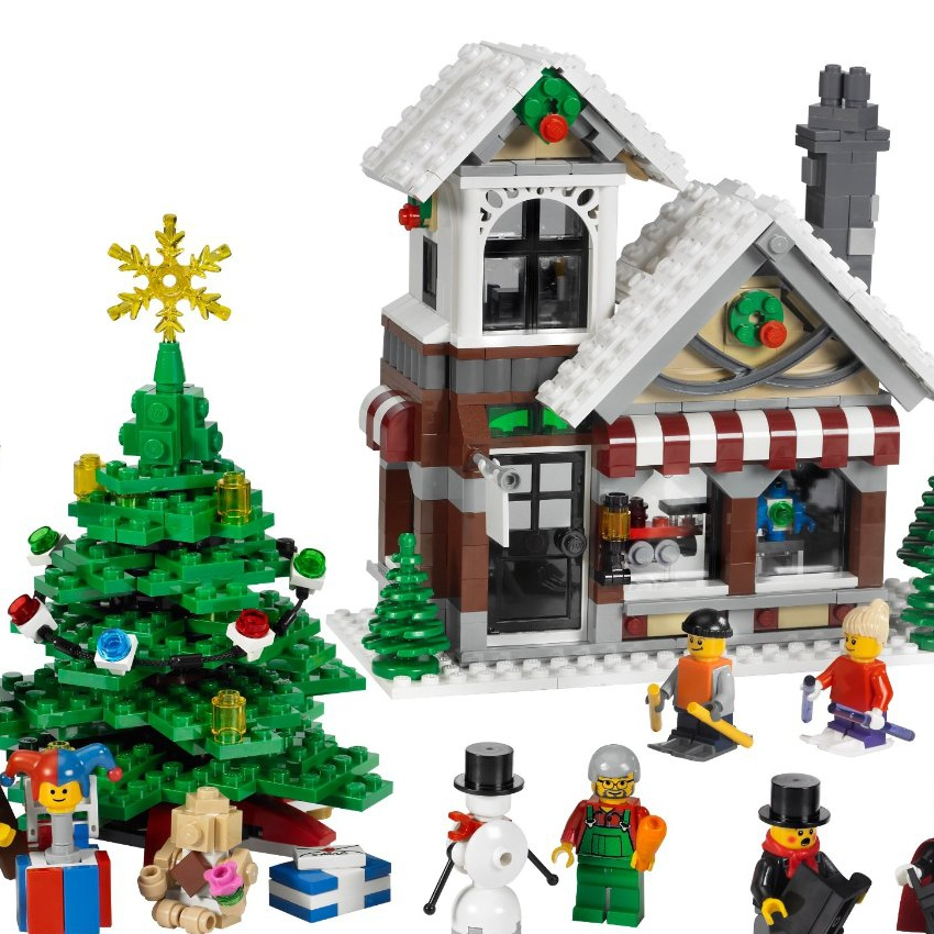 Little Yellow Brick - A Lego Blog: Our Lego Winter Village MOC ...