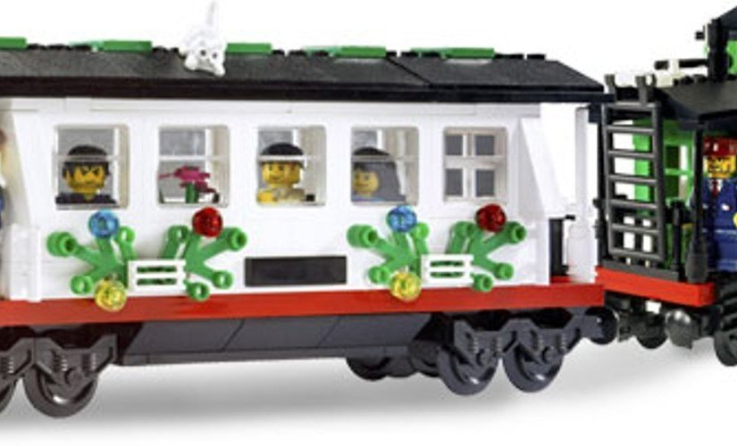Lego Christmas Train 2018