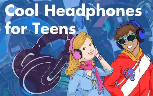 Cool, Funky Headphones for Teens  2017