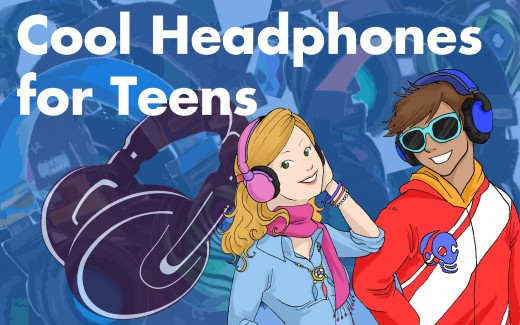 Cool, Funky Headphones for Teens  2017
